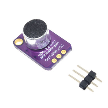 MAX4466 Microphone Amplifier Module