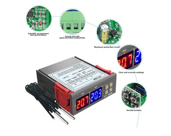 STC-3008  Thermostat  Dual Temperature Controller