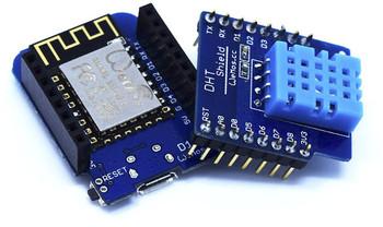 ESP8266 D1 mini + DHT11 Shield