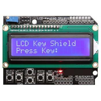 Keypad Shield LCD 16x2 Blue backlight