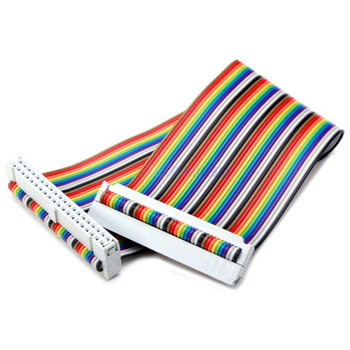 40 PIN GPIO Rainbow Ribbon Cable