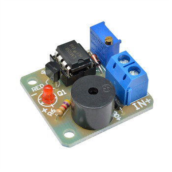 LM358 Accumulator Sound Light Alarm Board