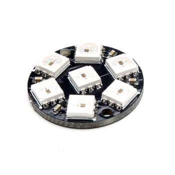 7-Bit LED WS2812 5050 RGB LED Ring Lamp