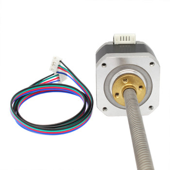 NEMA 42 Stepper Motor +T8 380 mm Lead Screw