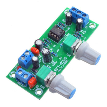 NE5532 DC 12v-24v Low-pass Filter