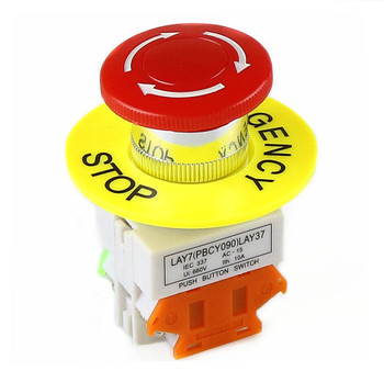 LAY37- 11ZS 1NO 1NC DPST Emergency Button/Switch