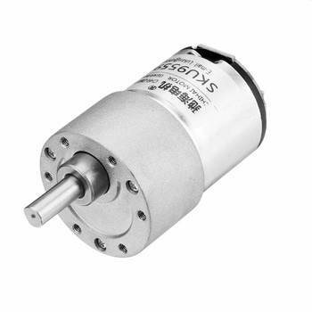 4.5V 102 Rpm long axis geared motor