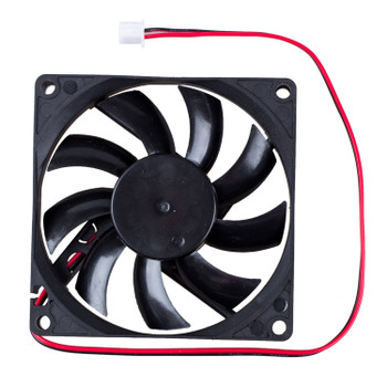 D80SH-12 DC 12V 0.18A 2 Wire Cooling Fan