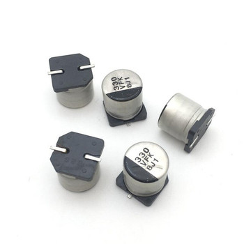 1uF-220uF SMD Aluminum Electrolytic Capacitors