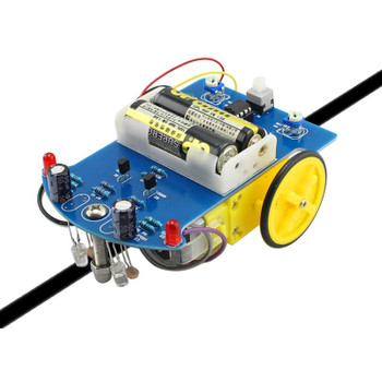 Smart Robot line tracking car DIY