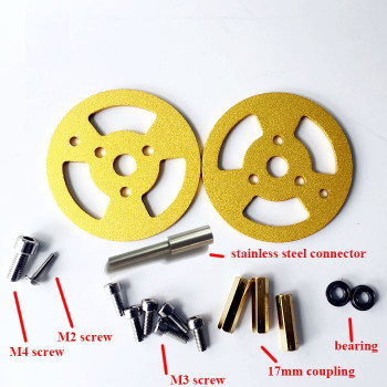 Metal Bearing Transmission Wheel (pair)