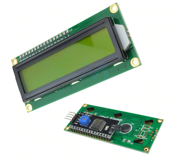 LCD 16x2 backlight /w I2C