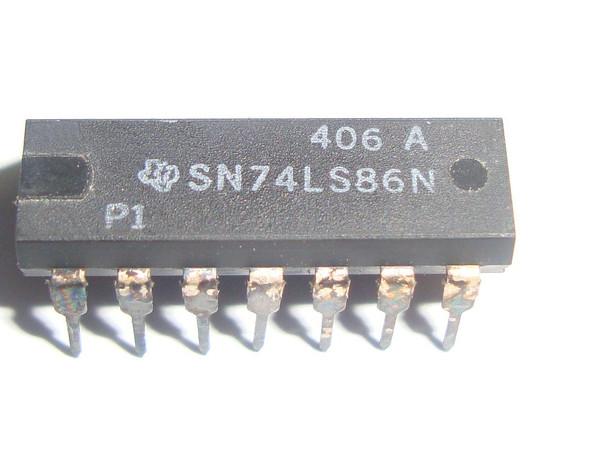 SN74LS86N -  XOR Gate, 74LS86 IC
