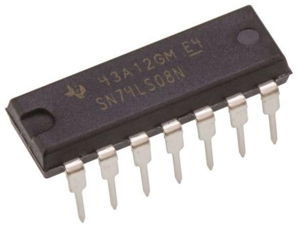 SN74LS08N, Quad 2-Input AND Logic Gate IC