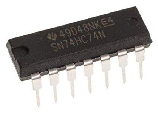 SN74HC74N Dual D Type Flip Flop IC