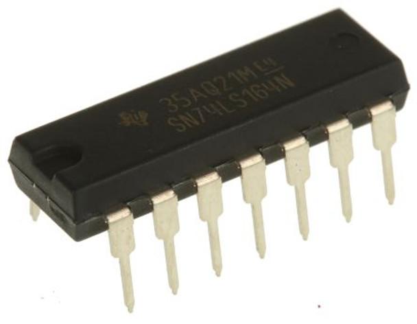 SN74LS164N 8-bit SIPO shift register IC