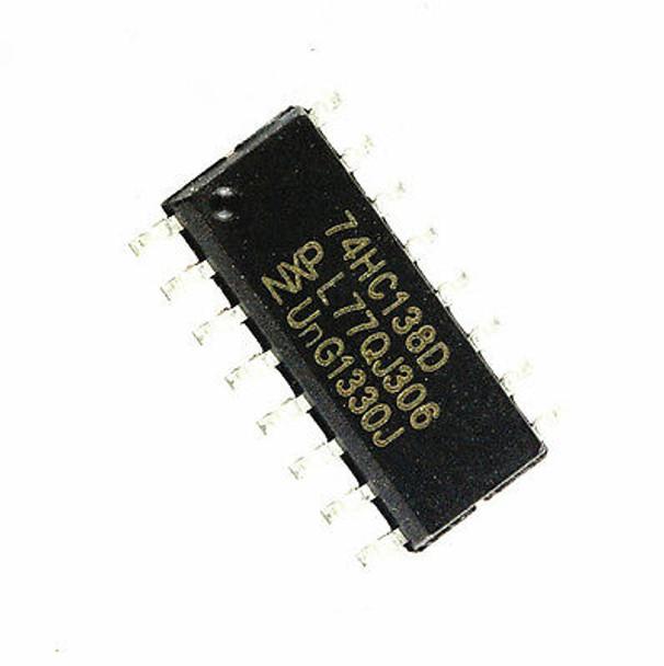 74HC138D,653, Decoder, Demultiplexer SMD IC
