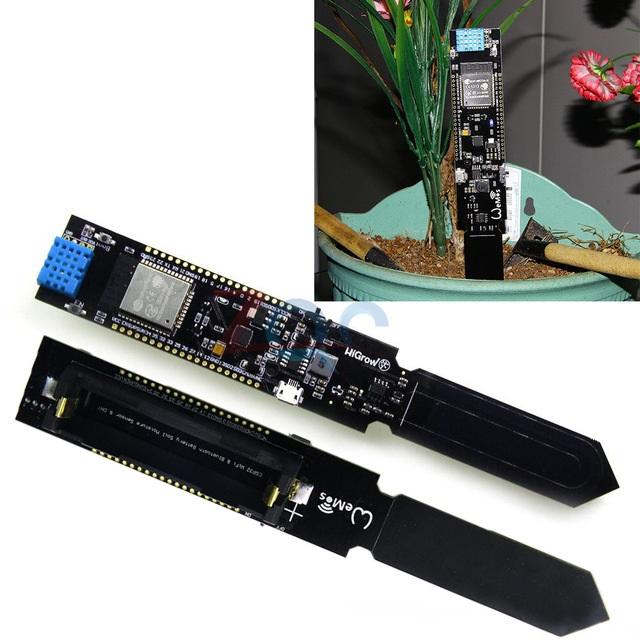 WIFI/Bluetooth Temp&Humidity Soil Moisture Sensor