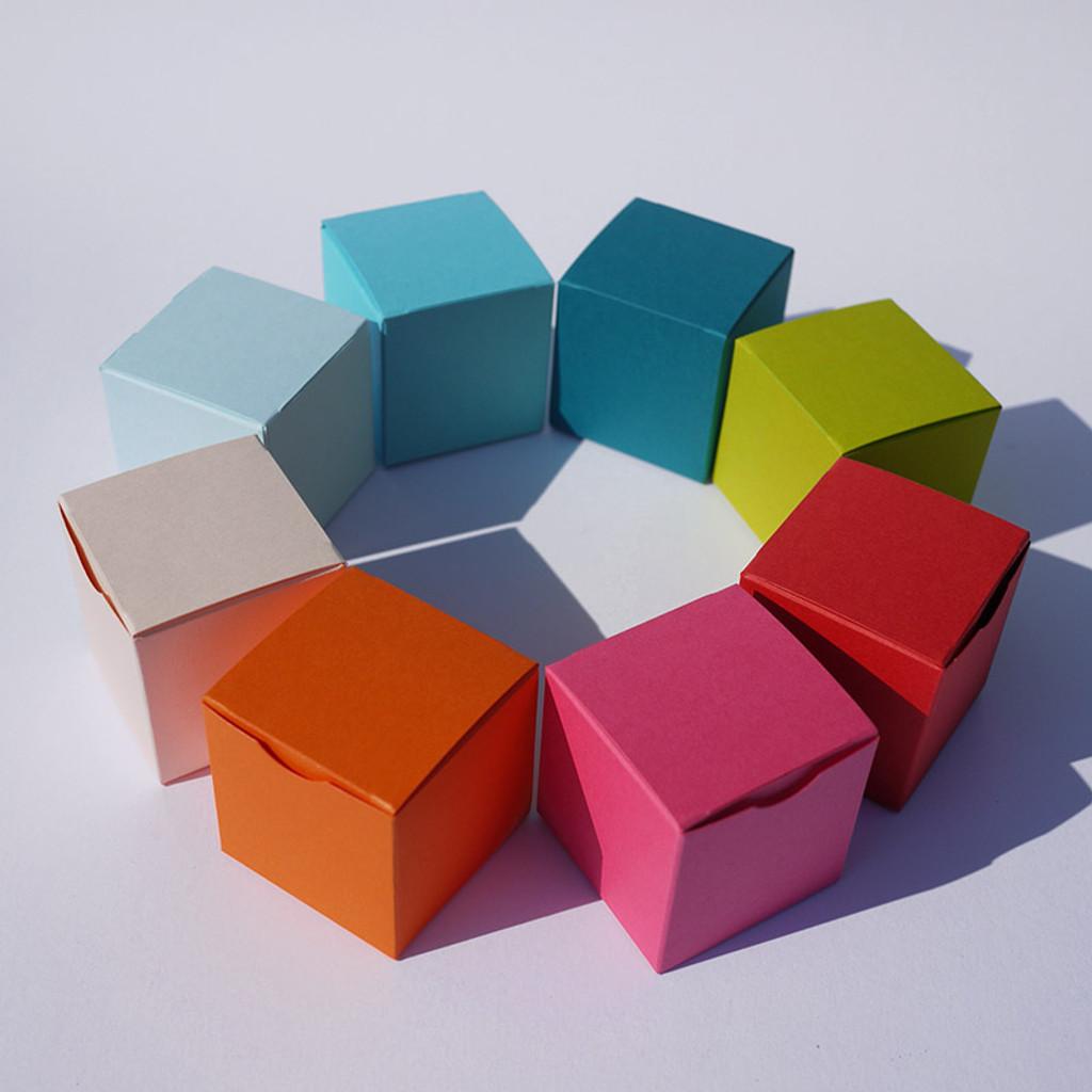 Cube design pour dragées