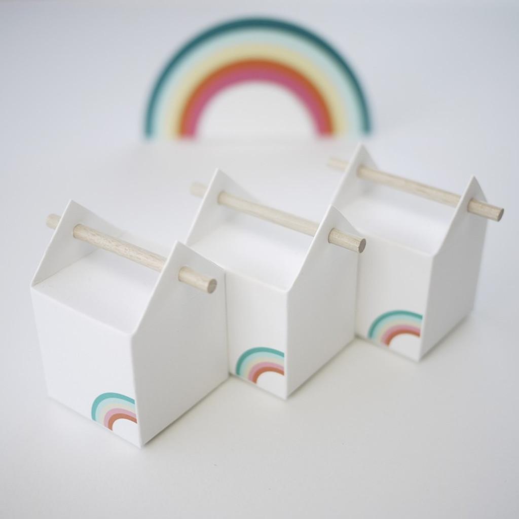 La boîte du petit arc en ciel, contenant à dragées