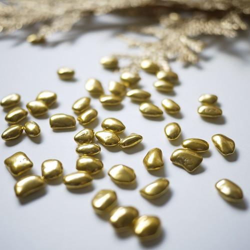 Pépites cailloux d'or, 70 g