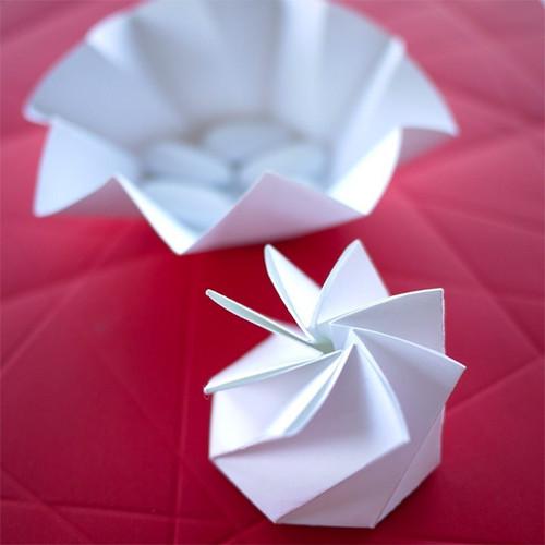 La boite à dragées Origami
