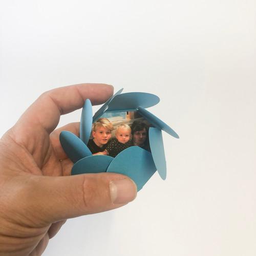 Image imprimée pour carte fleur