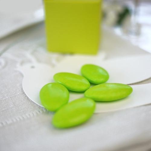 Dragées vert