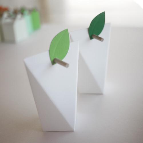 Etiquette Petite Feuille Chlorophylle