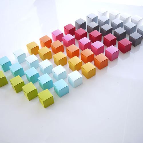 Boite dragées Cubes, tout simples