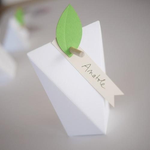 Etiquette ruban de papier
