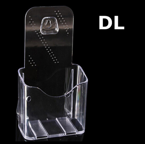 DL Wall Mount Table Top Brochure / Pamphlet Holder Display Free Standing