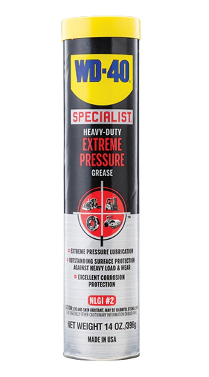 WD-40® Specialist® Heavy-Duty Extreme Pressure Grease 10/14 Ounce Carton