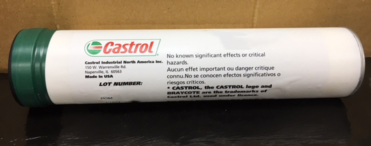BMS 3-34 - Castrol Braycote 444 Extended Life Grease for Aircraft Airframe Equipment, Case of 10/14.1oz Cartridges