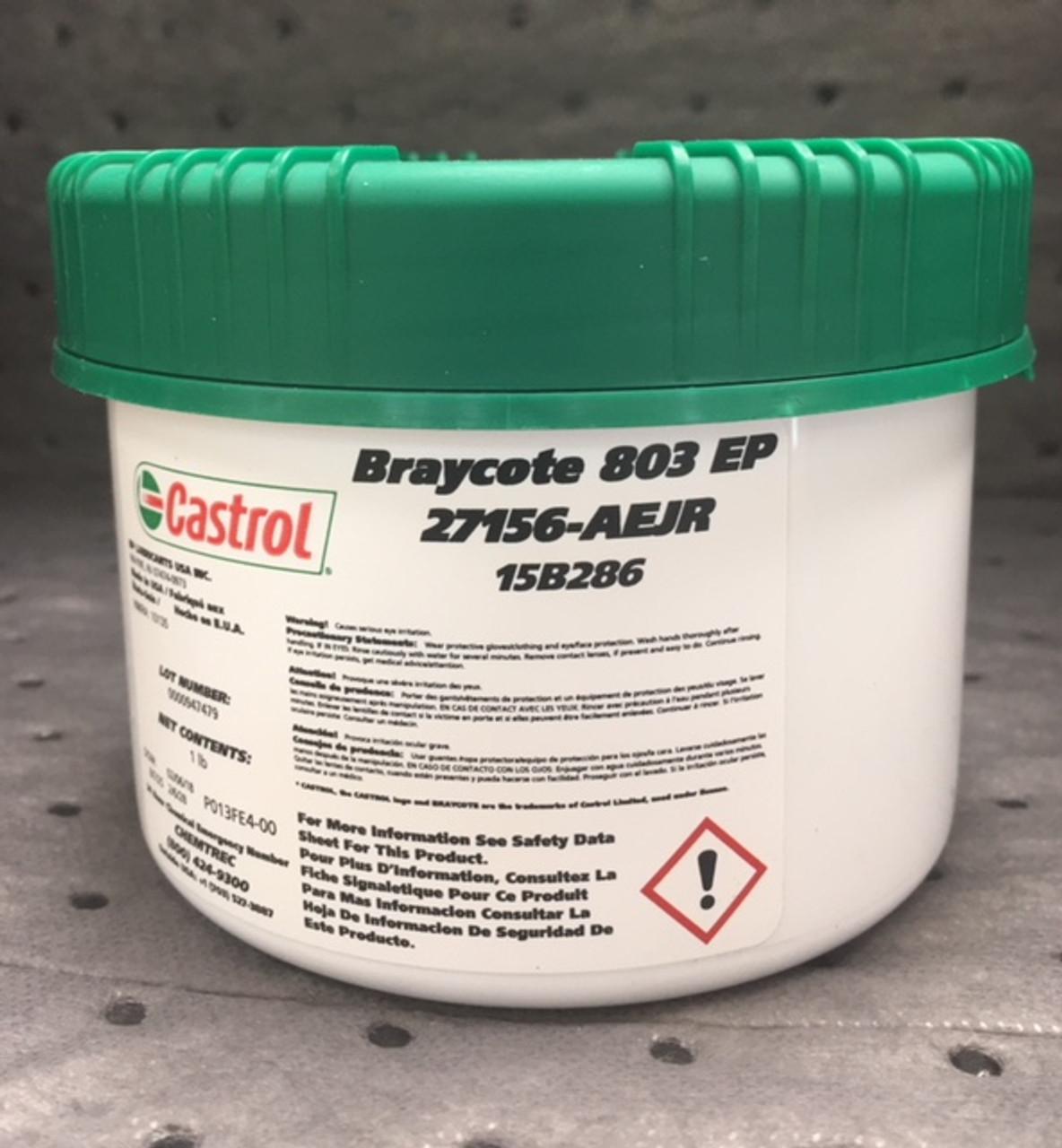 Castrol Braycote 803 EP | 1 LB Jar