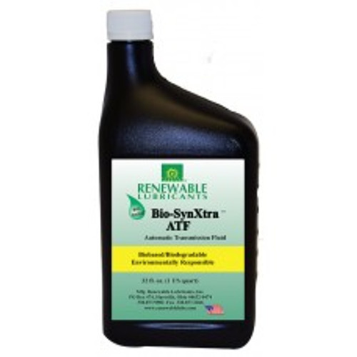 Renewable Lubricants Bio-SynXtra ATF Plus - 12 Quart Case