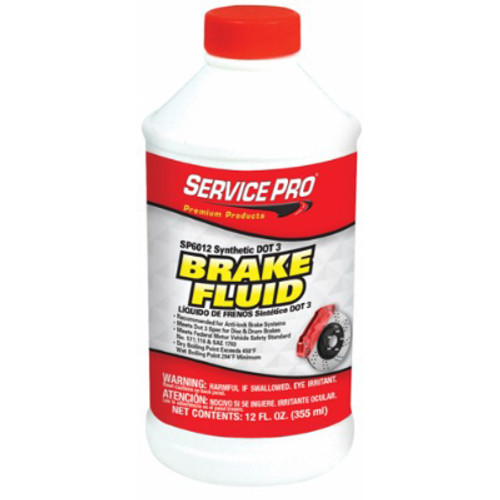 12/12 Ounce Case DOT 3 brake fluid