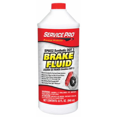 12/32 Ounce DOT 3 Brake Fluid
