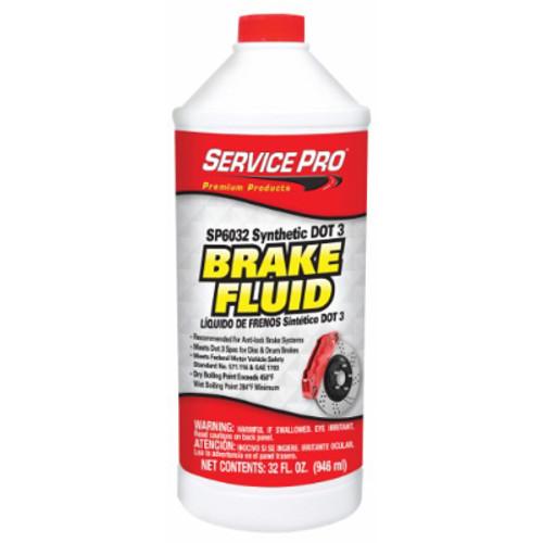 12/32 Ounce DOT 3 Brake Fluid