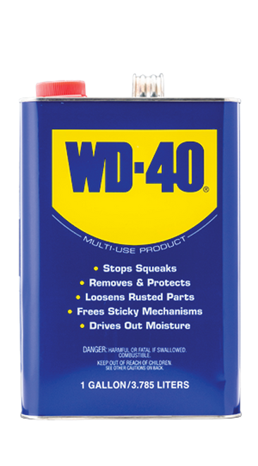 WD40 One Gallon Pail (4/1 Case)