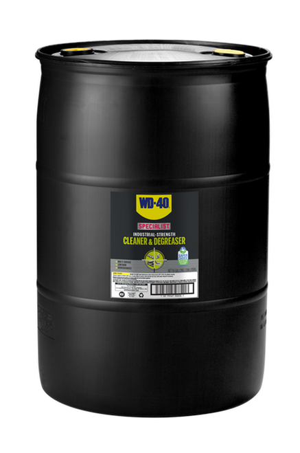 WD-40® Specialist® Industrial-Strength Cleaner & Degreaser 55 Gallon Drum