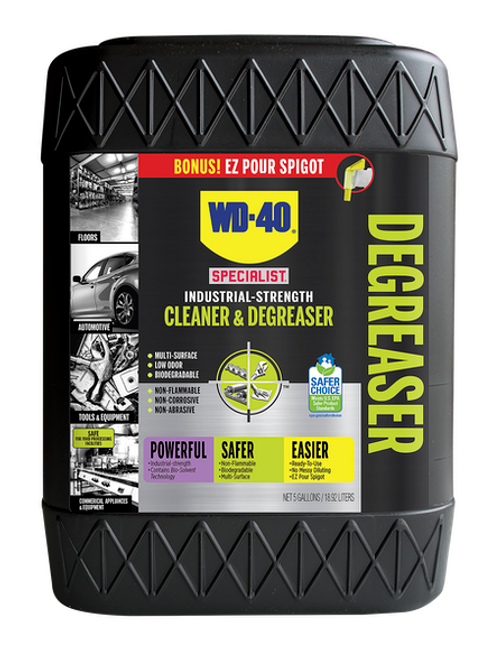 WD-40® Specialist® Industrial-Strength Cleaner & Degreaser 5 Gallon Pail