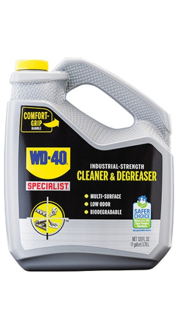 WD-40® Specialist® Industrial-Strength Cleaner & Degreaser 4/1 Gallon Case