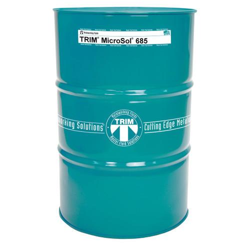TRIM® MicroSol® 685 High-lubricity Semisynthetic Metalworking Fluid - 54 Gallon Drum