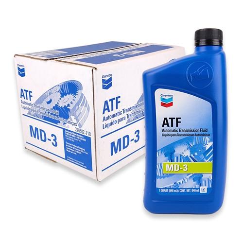 CHEVRON AUTOMATIC TRANSMISSION FLUID MD-3 - Case 12/1qt (226502721)