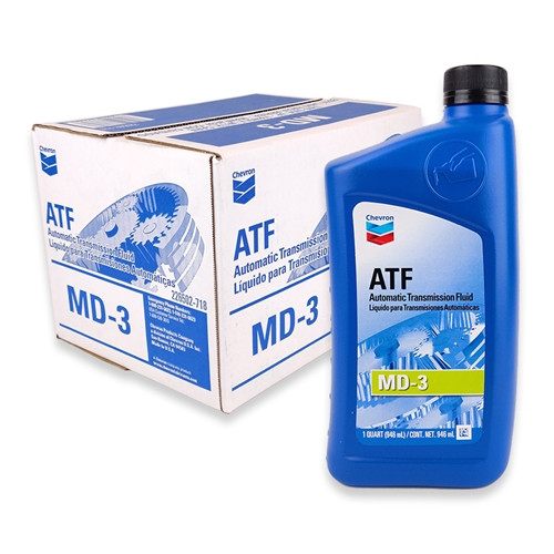 CHEVRON AUTOMATIC TRANSMISSION FLUID MD-3 - Case 12/1qt (226502721)