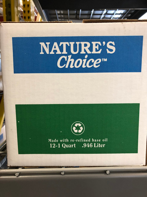 Nature's Choice SynBlend Re-Refined SN PLUS/GF-5 5W-30 - 12/1 Quarts (152176-12-1)