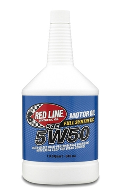 5W50 MOTOR OIL 12/1 QUART CASE