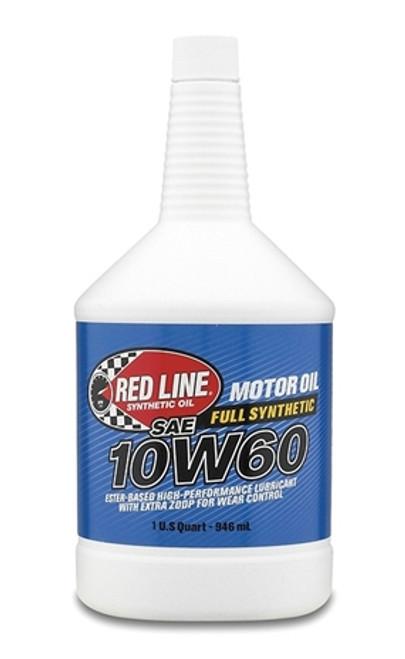 RED LINE  10W60 Motor Oil 12/1 quart