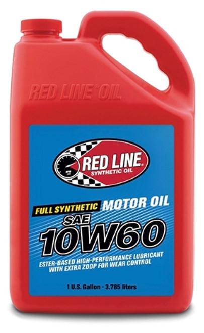 RED LINE 10W60 Motor Oil 4/1 gallon
